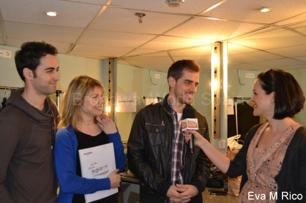 David Tortosa, Laura Castrillon, Jorge Gonzalo y Fanni Alcazar