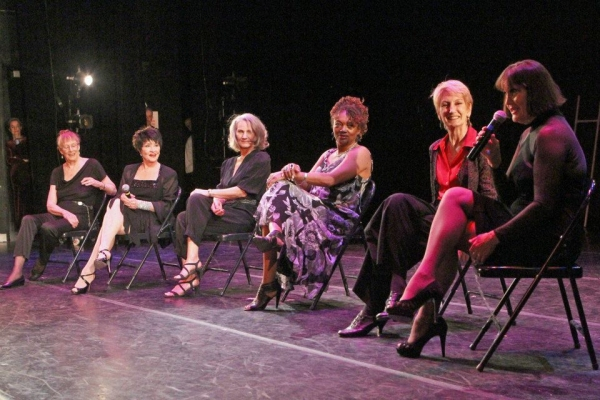 Joan Bell, Chita Rivera, Candace Tovar, Candy Brown, Michon Peacock and Cheryl Clark