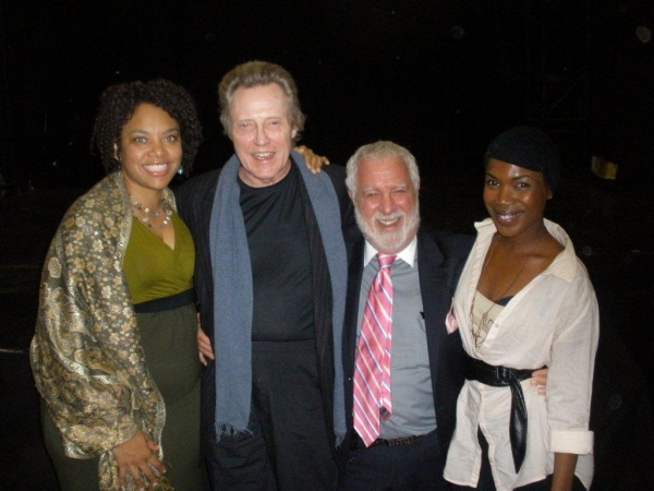 Photo Flash: Christopher Walken Visits Preview of INNOCENT FLESH at Actors Temple Theatre