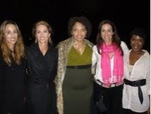 Cati Graber, Molly Rigdon, Diana Zollicoffer, Laura Bottini, Kenyetta Lethridge Photo
