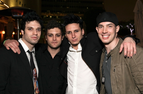 Jake Epstein, Van Hughes, Joshua Kobak and Scott J. Campbell Photo