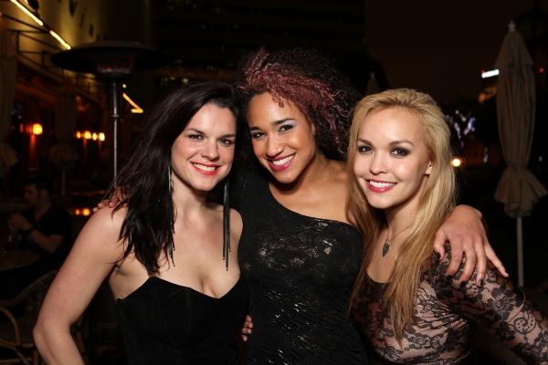 Leslie McDonel, Gabrielle McClinton and Nicci Claspell  Photo