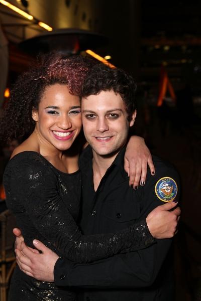 Gabrielle McClinton and Van Hughes Photo