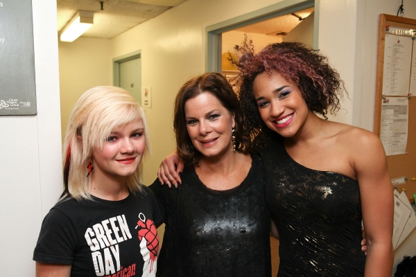 Eulala Scheel, Marcia Gay Harden and Gabrielle McClinton at AMERICAN IDIOT's Star-Studded Opening in LA!