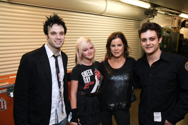 Jake Epstein, Eulala Scheel, Marcia Gay Harden and Van Hughes at AMERICAN IDIOT's Star-Studded Opening in LA!