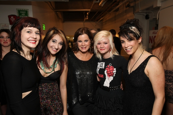Jennifer Bowles, Krystina Alabado, Marcia Gay Harden, Eulala Scheel and Talia Aaron at AMERICAN IDIOT's Star-Studded Opening in LA!