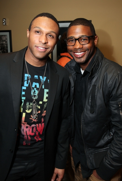 Jarran Muse and Chauncey Jenkins