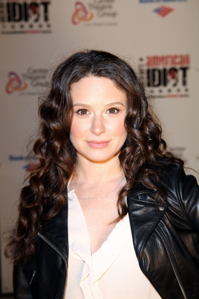 Katie Lowes at AMERICAN IDIOT's Star-Studded Opening in LA!