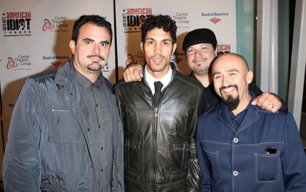 Ulises Bella, Justin Poree, Asdrubal Sierra and Raul Pacheco