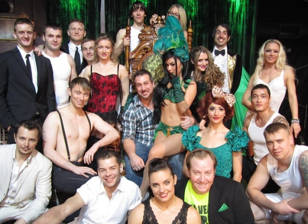 Photo Coverage: Joey Fatone Attends ABSINTHE at Caesars Palace