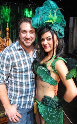 Joey Fatone and ABSINTHE's Green Fairy, Melody Sweets