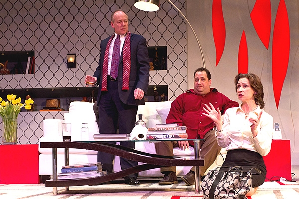 Greg Wood, Ben Lipitz and Susan Riley Stevens