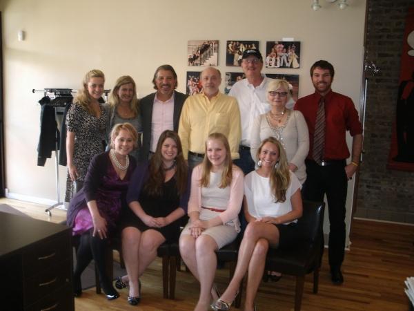 Lianne Wiker, Noreen Heron Zautcke, Max McLean, Lew Mead, Ken Denison, Susan Duffy, C Photo