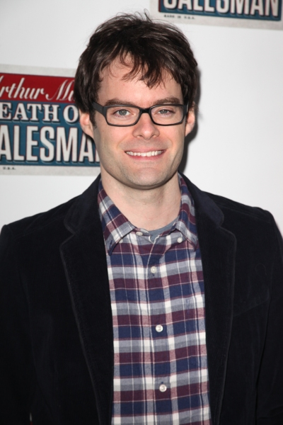 Bill Hader at Starry Opening Night Arrivals for DEATH OF A SALESMAN!