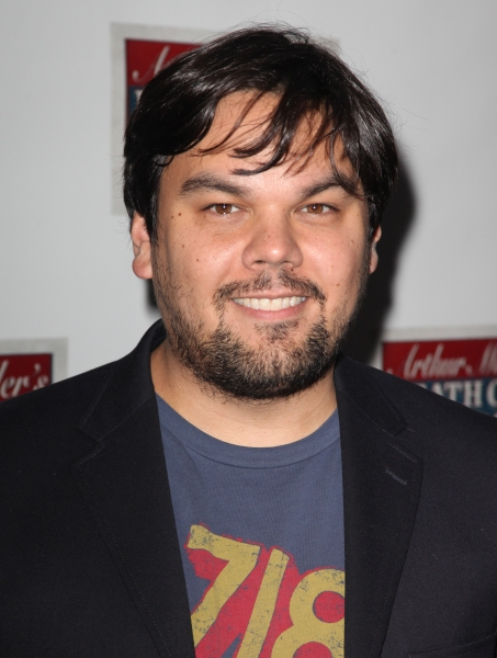 Bobby Lopez  at Starry Opening Night Arrivals for DEATH OF A SALESMAN!