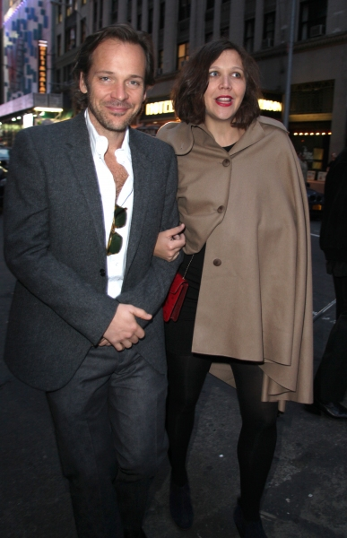 Peter Sarsgaard & Maggie Gyllenhaal at Starry Opening Night Arrivals for DEATH OF A SALESMAN!