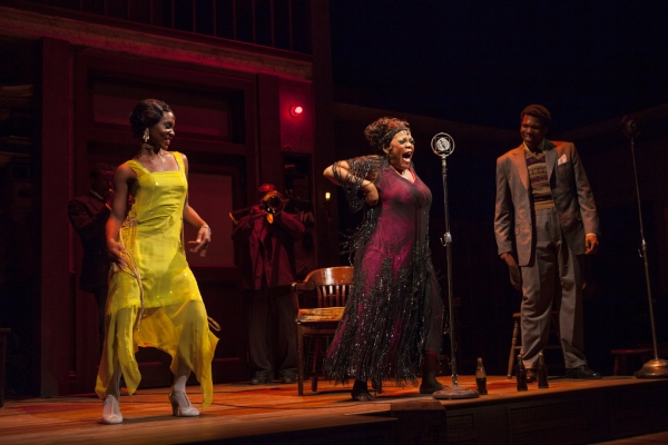 Joniece Abbott-Pratt, Yvette Freeman, and Corey Allen at First Look at Yvette Freeman, et al. in HTC's MA RAINEY'S BLACK BOTTOM