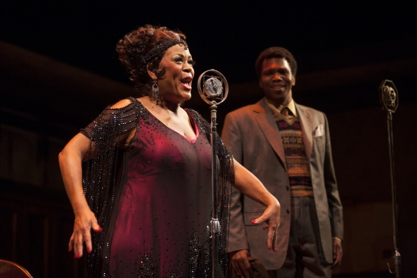 Yvette Freeman and Corey Allen at First Look at Yvette Freeman, et al. in HTC's MA RAINEY'S BLACK BOTTOM