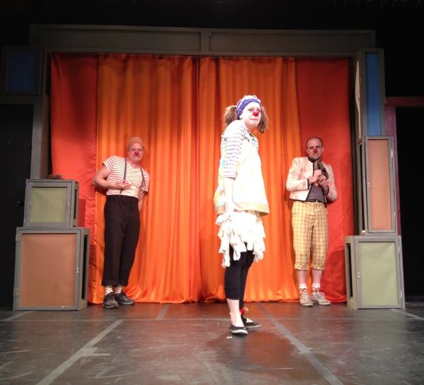 Alan Tudyk, Julia Ogilvie and Carlton Ward at THAT BEAUTIFUL LAUGH at La MaMa