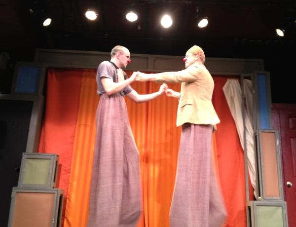 Carlton Ward and Alan Tudyk at THAT BEAUTIFUL LAUGH at La MaMa