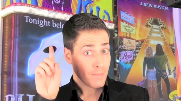 BWW TV Premieres EXCLUSIVE New Series - CHEWING THE SCENERY With RANDY RAINBOW