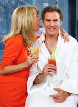 Kathie Lee Gifford & Will Ferrell at Will Ferrell Promotes CASA DE MI PADRE on NBC's 'Today'
