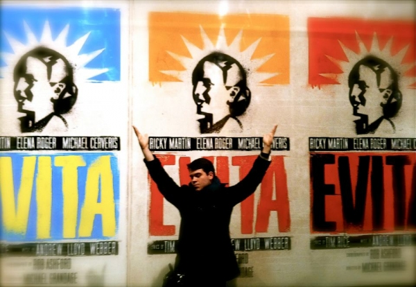 Photo Flash: EVITA Contest - Throw Your Arms Up!
