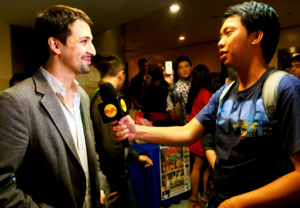 Photo Flash: Lin-Manuel Miranda Leads IN THE HEIGHTS Manila Curtain Call