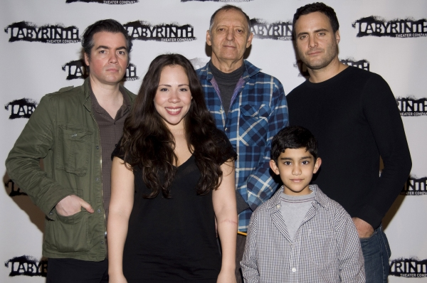 Kevin Corrigan, Rosal Colon, Bob Glaudini, Dominic Fumusa and Samuel Mercedes  at Meet the Cast of Labyrinth Theater Company's NINTH AND JOANIE