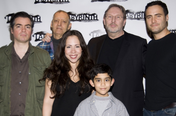 Kevin Corrigan, Rosal Colon, Bob Glaudini, Mark Wing-Davey, Dominic Fumusa and Samuel Mercedes  at Meet the Cast of Labyrinth Theater Company's NINTH AND JOANIE