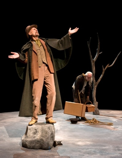 James Cromwell and Hugo Armstrong at WAITING FOR GODOT Opens at Taper March 21