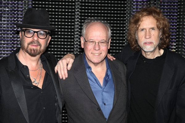 Dave Stewart, Bruce Joel Rubin and Glen Ballard Backstage
