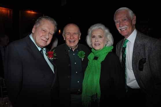 Brian Murray, Terrence McNally, Sally Ann Howes and Douglas Rae Photo