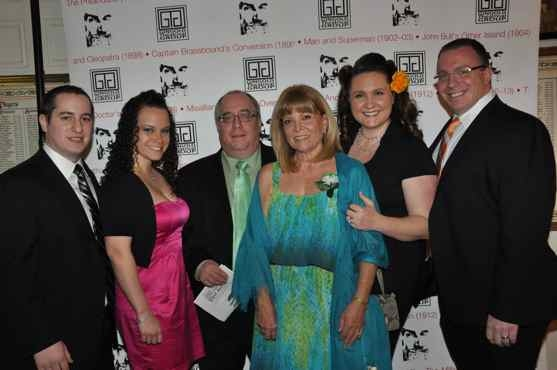 Michael Turner, Megan Turner, Richard Terrano, Marylee Terrano, Leigh Anne Jadro and Matt Jadro