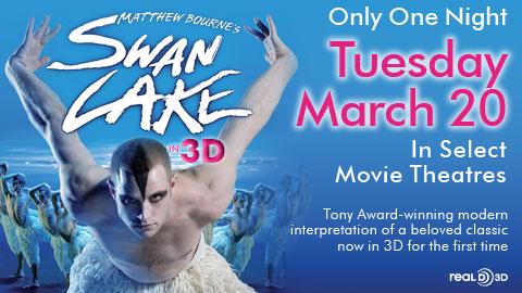 SWAN LAKE 3D Special Interview: Nina Goldman