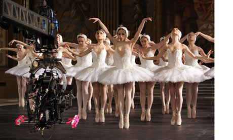SWAN LAKE 3D Special Interview: Nina Goldman
