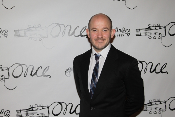 Stephen Gabis at ONCE - Broadway Opening Night Party!