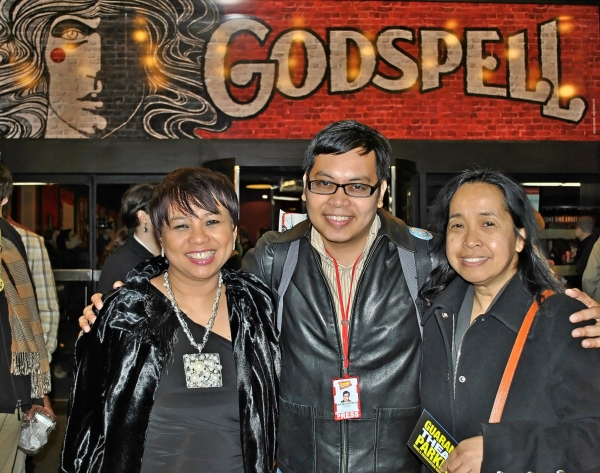 Janet Nepales (Hollywood Foreign Press Association), Oliver Oliveros (BroadwayWorld.com), Cristina Dc Pastor (TheFilAm.net)