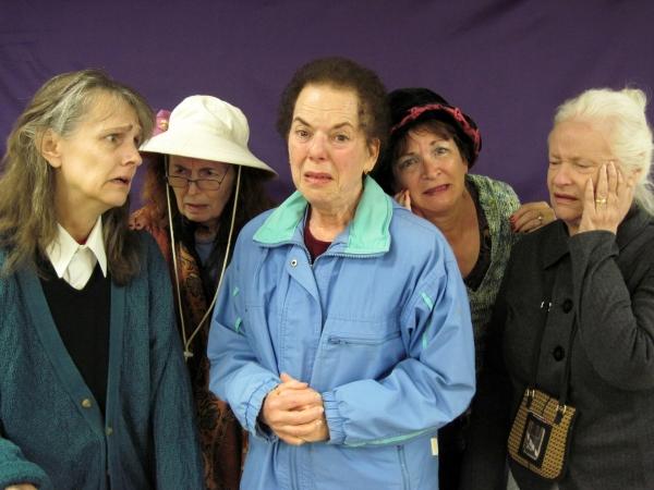 Colleen Bugarske,  Elizabeth Scher, Marlene Grinde, Madison Brightwell and Janet Mill Photo