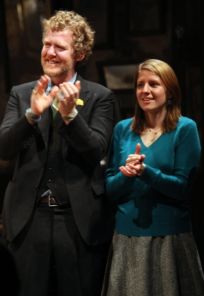 Glen Hansard & Marketa Irglova at ONCE Opens on Broadway - The Premiere Bows!