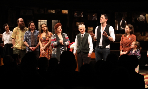 Will Connolly, Paul Whitty, J. Michael Zygo, Erikka Walsh, Anne L. Nathan, David Patrick Kelly, Steve Kazee & Cristin Milioti, Ripley Sobo at ONCE Opens on Broadway - The Premiere Bows!