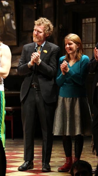 Glen Hansard & Marketa Irglova at ONCE Opens on Broadway - The Premiere Bows!