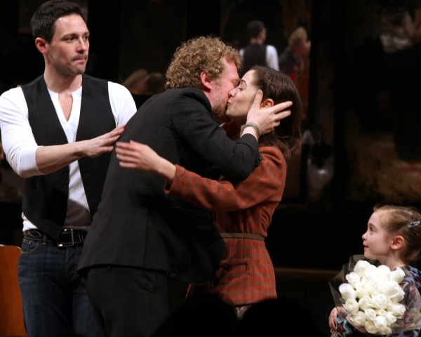 Steve Kazee, Glen Hansard, Cristin Milioti & Ripley Sobo at ONCE Opens on Broadway - The Premiere Bows!