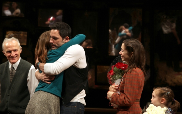 David Patrick Kelly, Marketa Irglova, Steve Kazee, Cristin Milioti & Ripley Sobo at ONCE Opens on Broadway - The Premiere Bows!