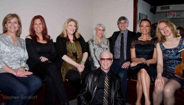 The Friends  Karen Mason, Victoria Shaw, Lisa Lampanelli, Jamie deRoy, Mo Rocca,Valarie Pettiford, Daisy Jopling, Ron Abel