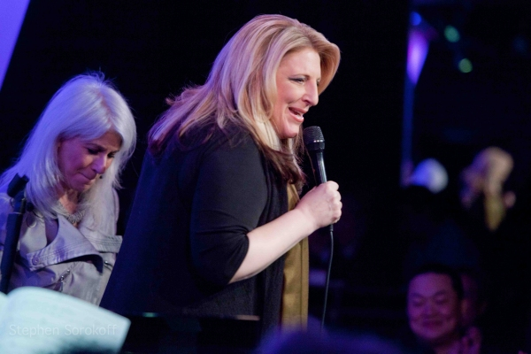 Photo Coverage: Mo Rocca, Karen Mason, Lisa Lampanelli et al. Join Jamie deRoy & Friends at the Metropolitan Room