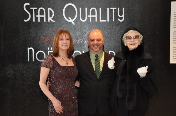 Jacqueline Davis, Executive Director of The New York Public Library for the Performing Arts, Brad Rosenstein, Curator of Star Quality: The World of Noel Coward, Elaine Stritch