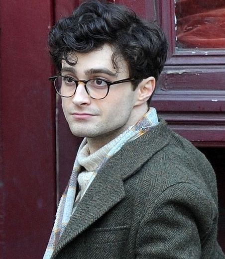 Photo Flash: First Look - Daniel Radcliffe as Beat Poet Allen Ginsberg