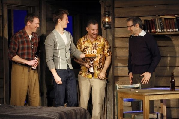 Photo Flash: First Look at Alexis Bledel, Ansel Elgort, et al. in MTC's REGRETS