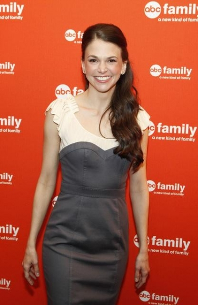 Photo Flash: Sutton Foster at Upfronts for ABC Family's BUNHEADS!
